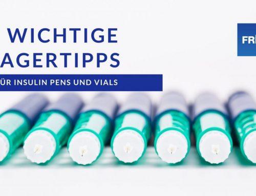 Sechs grundlegende Tipps zur Aufbewahrung von Insulin und Phiolen